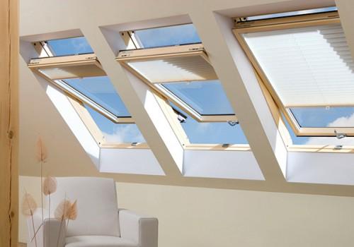Мансардные окна: особенности конструкции